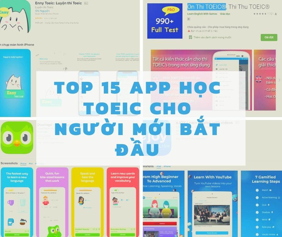 15 App học TOEIC cho người mới bắt đầu tốt nhất hiện nay