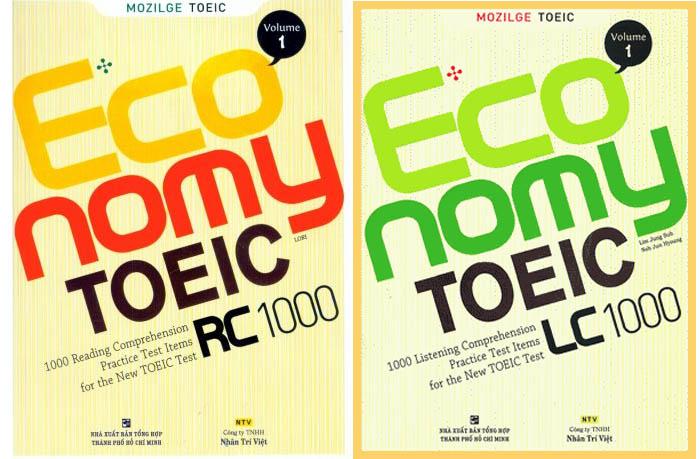 sách luyện thi TOEIC level 0-550