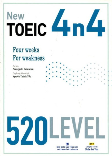 Sách luyện thi TOEIC 700-990