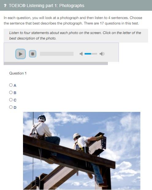 website học toeic online