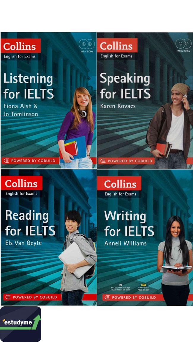 Bộ sách 4 kỹ năng collins for IELTS